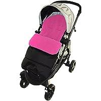 Saco/Cosy Toes Compatible con venicci Vento carrito de bebé, color rosa