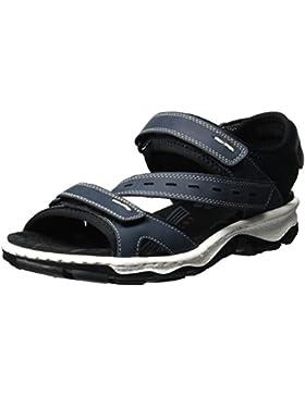 Rieker Damen 68868 Offene Sandalen mit Keilabsatz