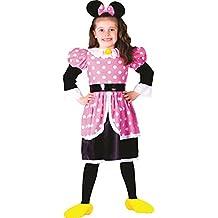 Dress Up America - Disfraz para niña ratón, talla 1 - 2 años (758-T2)
