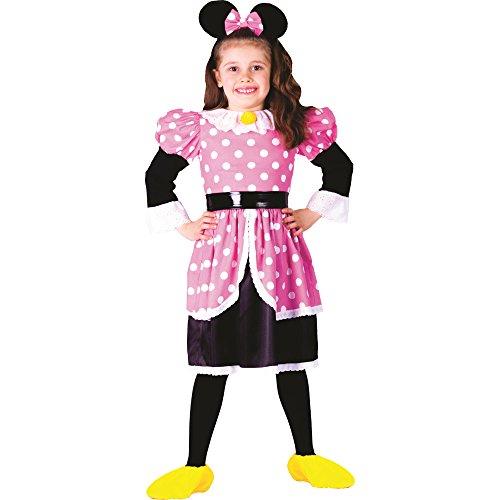 Dress Up America - Disfraz para niña ratón, talla 1 - 2...