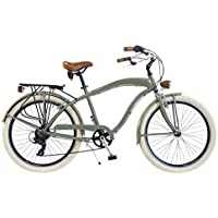 Via Veneto by Canellini Bicicleta Bici Citybike CTB Hombre Vintage Via Veneto American Cruiser Aluminio Verde Mat