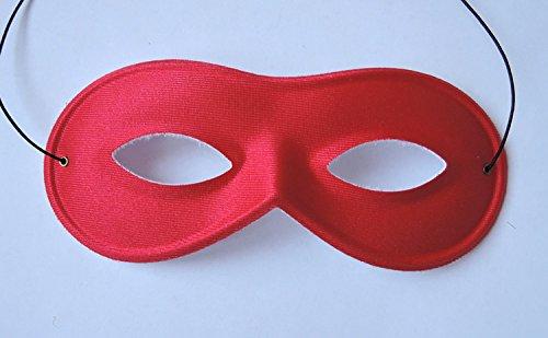 Schöne rote Augen-Maske