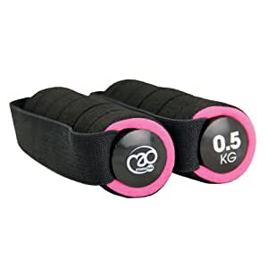 Fitness Mad Pro Hand Weight - Pink, 0.5 Kg