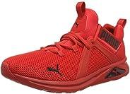 PUMA Erkek Enzo 2 Sokak Koşu Ayakkabısı, Siyah/Beyaz, Tek Beden Siyah Size: