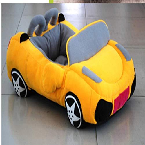 PKJI Neues Haustierbett Auto Haustier Hundebett Katzenstreu Cabrio Kleiner Hund Weich und bequem Spielbar Schlafbar Leicht zu tragen und zu lagern