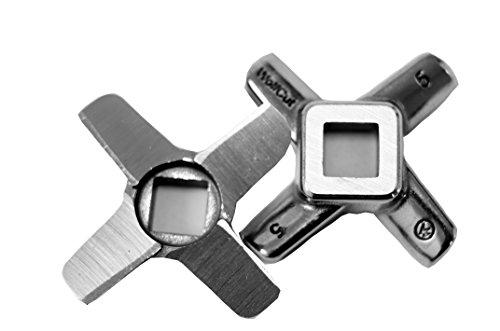 1 Stück Kreuzmesser Flach Gr.5 - für Fleischwolf Jupiter - Bosch - Alexanderwerk