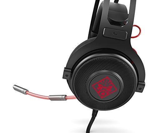 Omen by HP 800 1KF76AA Gaming Headset fr PC Notebook PS4 Xbox One Desktop und smartphone Gerte schwarz Headsets Kopfhrer