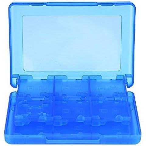 Mudder 28 en 1 Tarjeta de Juego Estuche Protector, Soporte Organizador para 3DS XL 3DS 2DS DSi XL DSi DS Lite y DS,