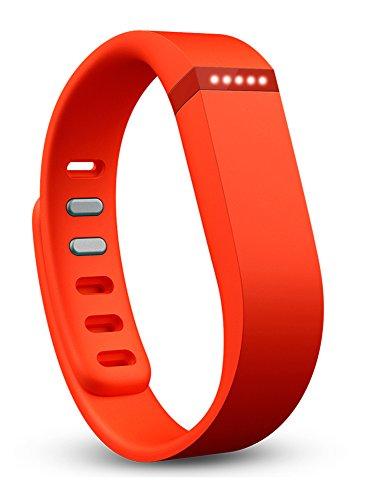Fitbit Flex Wireless Activity Tracker and Sleep Wristband (Tangerine)