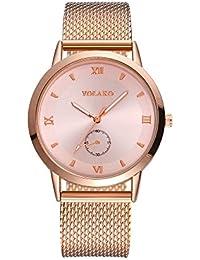 Amazon.es  malla metalica - Relojes de pulsera   Mujer  Relojes eefa3500ddc2