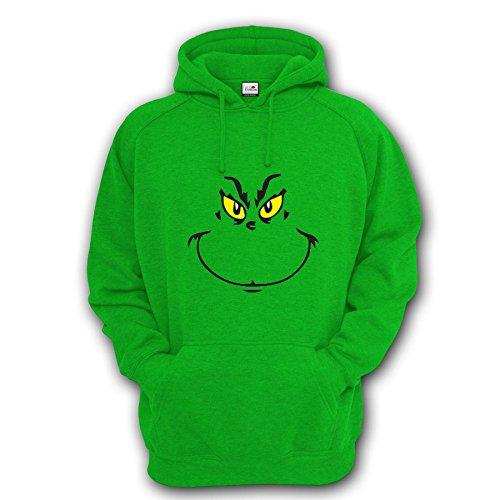 Il Grinch ispirato, ideale per Natale Unisex