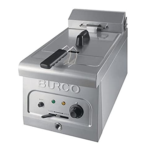 Burco CTFR01 (444449315) Countertop, Electric Fryer, 6