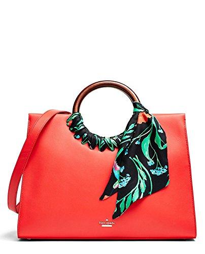 Kate Spade Katarina Ridgefield Street Crossbody Handbag Prickly Pear Red