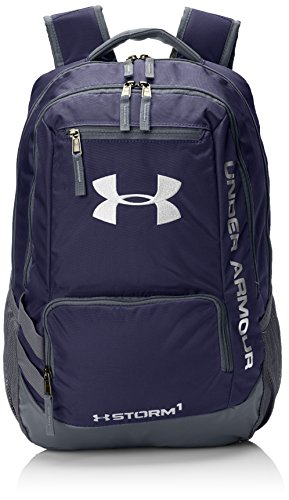 Under Armour UA Hustle Backpack II Mochila, Unisex adultos, Azul (Midnight Navy)
