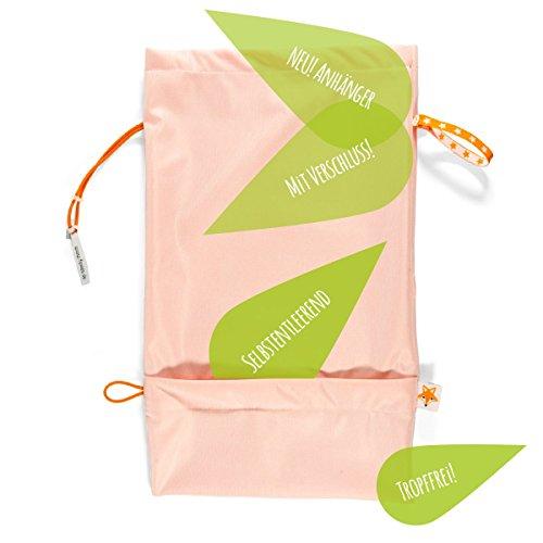 Foxy Baby® Windelbeutel, selbstentleerende Windeltasche mit Auslaufschutz