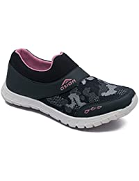 Asian shoes Riya-06 Navy Blue Pink Women Sports Shoes