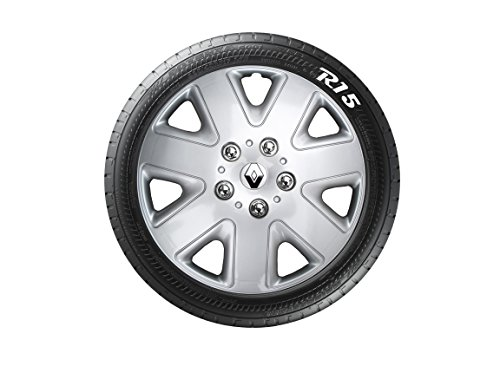 RENAULT CLIO SCENIC REPLICA 15 INCH WHEEL TRIMS SET OF 4 please check your wheel size before ordering - Buy Online in Oman. | wheel trims direct Products in ...