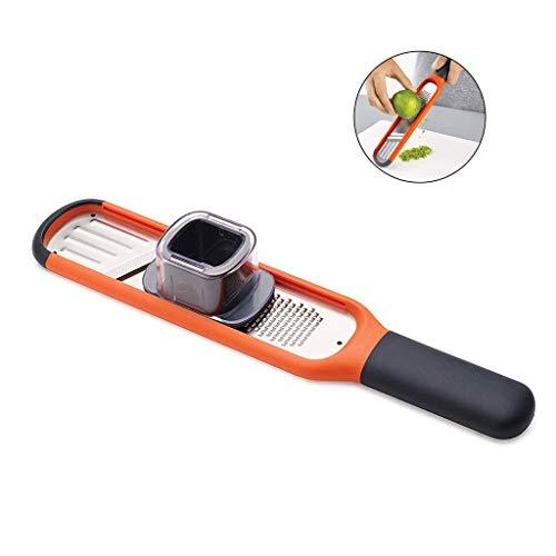 2 in 1 Reibe Fine Ginger Wire Reibe Gemüseschneider, Mini Handheld Shred Kreative Messer Cutter Handheld-mandoline
