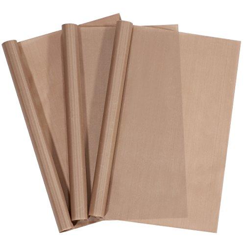 Dauerbackfolie (3er Set, 40 x 60 cm), einfach zuzuschneiden, spülmaschinenfest, umweltschonend | 2 Jahre Zufriedenheitsgarantie | Dauerbackfolie, Backpapier wiederverwendbar