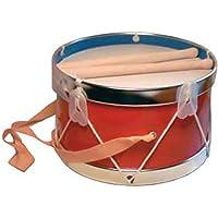 """Instrumento de Percusión Decorativo""""TAMBOR ROJO"""". Juegos y Juguetes de Colección. Réplicas de Instrumentos Musicales. Regalos Originales."""