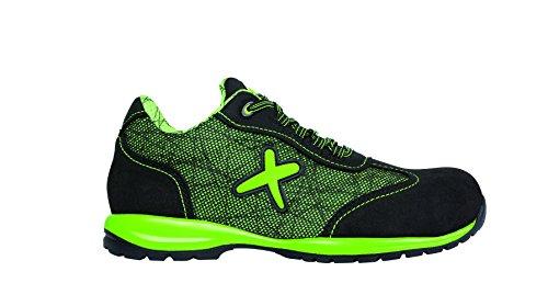 Exena Jerez-Chaussures de sécurité, Jerez Verde y Negro