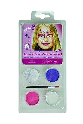 Schminkset Prinzessin Prinzessinenschminkset Makeup Schminke Mädchen Princess Kids 5-Teilig Fee...