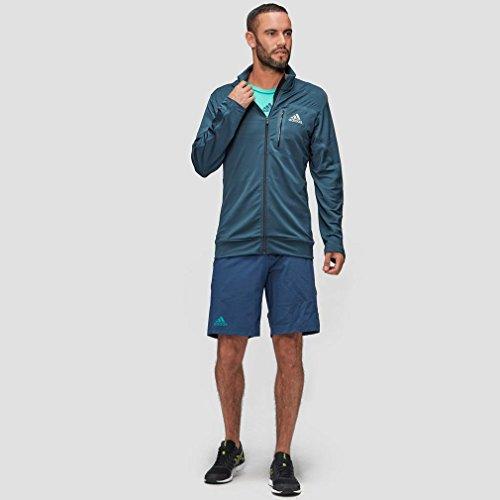 Adidas Giacca Jo Wilfried tsonga Barricade grigio scuro