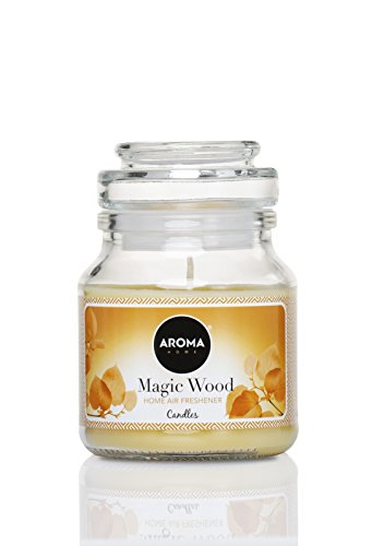 Holz-duft (Home Lufterfrischer Kerze 130 g – Magic Holz Duft)