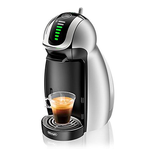 De'longhi edg456.s genio macchina per caffè espresso a sistema nescafè dolce gusto, colore silver