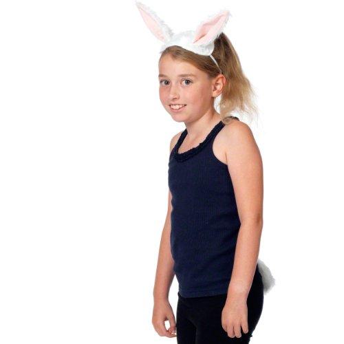 Hase / Kaninchen Ohren Und Schwanz Für Kinder 3+ - Kaninchen-ohren Halloween