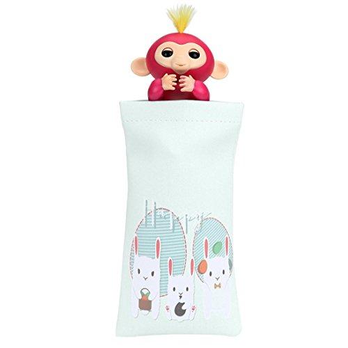 Lieferung 1-Beutel, Tragbare Mamum Motiv Puppen für Kinder Spiel-Teppich mit Spielzeug für die Lieferung mit Box Affe Einheitsgröße F -