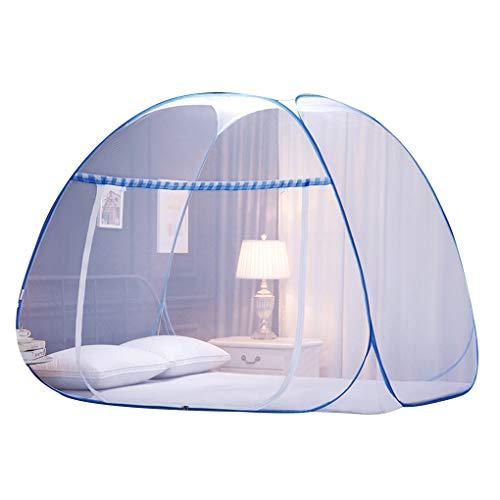 Aiming Faltbare DREI Tür mongolische Jurte Moskitonetz Dome Moskitonetz Decke hängend Schlafzimmer Doppelbett Canopy -