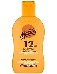 Malibu Protective Sun Lotion SPF12 Waterproof Medium Protection 200 ml