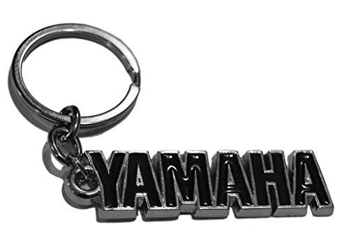 GCT Yamaha Logo Metal Keychain | Keyring | Key Chain for Bike Keys | for Men Women Boys Girls | for Saluto Fascino Alpha Cygnus Ray Z FZ FZS FZ25 Fazer FI YZF R1 R15 MT-09 SZ-RR V Max (Black/Silver)  available at amazon for Rs.189