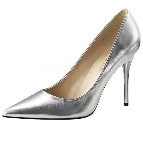 Heels-Perfect, Scarpe col tacco donna Argento (argento)