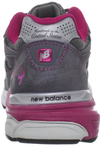 New Balance W990 Womens Grey with Pink & White