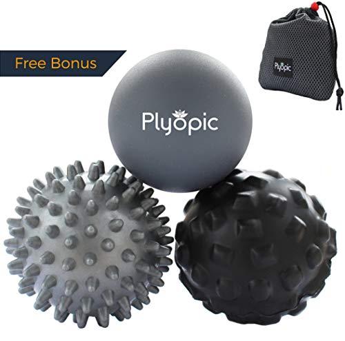 Plyopic Bolas Masaje – Set 3 Massage Balls – Incluye