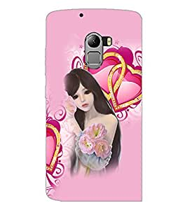 PrintDhaba Love Girl D-4131 Back Case Cover for LENOVO K4 NOTE A7010a48 (Multi-Coloured)