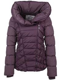 Fresh Made Stepp Mantel Jacke, Größe:M;Farbe:Purple