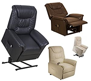 Riva Dual motor electric riser and recliner chair - choice of colours rise and recline mobility lift chair