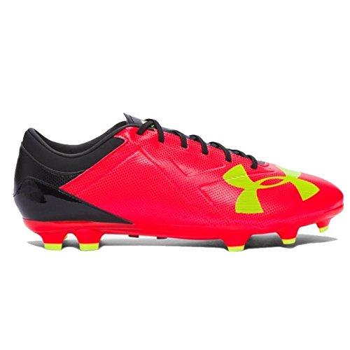 Under Armour UA Spotlight DL FG, Chaussures de Football Homme, Rouge, UK