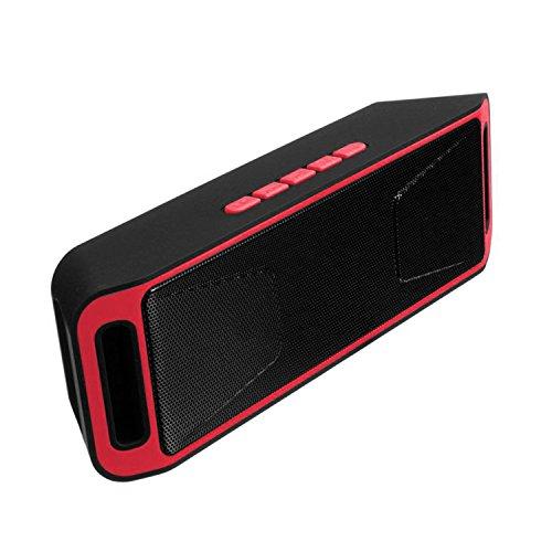 Zantec Altavoz Inalambrico Bluetooth, Portátil altavoz radio coche, Flash USB Radio FM...