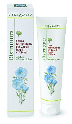L'Erbolario Ristruttura Repair creme für schwaches und brüchiges Haar, 1er Pack (1 x 150 ml)