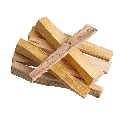 12er Pack Meditation / Räucherwerk: 12x Palo Santo Holzstab (je ca 5-6gr, ca. 100 mm lang) v. Native-Spirit | Heiliges Holz, spirituelle Reinigung -