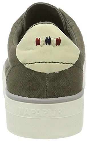 Napapijri Damen Astrid Sneakers Grün (new khaki)