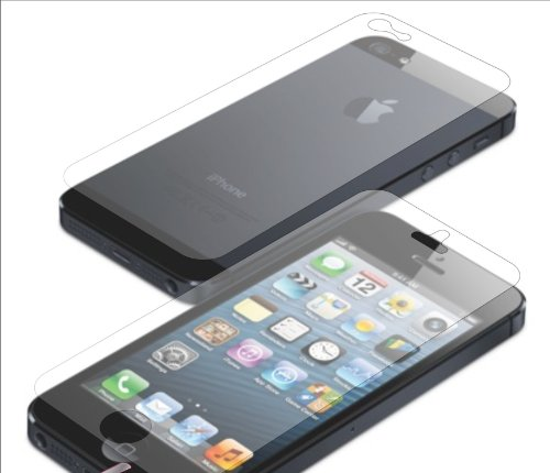 ascension Front + 2 Back Full Body HD Matte Screen Protector Guard For Apple iPhone 5 5s  available at amazon for Rs.599