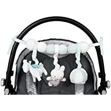 Tiamo Miffy Rabbit Mint Play Chain for Maxi Cosi Baby Buggy