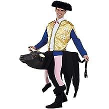 Disfraz torero sobre toro adulto Talla 52 Único