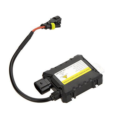 Kkmoon HID Vorschaltgerät, Xenon, Auto, Ersatz, DC, digital, sehr dünn, passend zu allen Leuchtmitteln, 12°V, 55°W