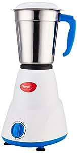 Pigeon Gusto 550-Watt Mixer Grinder with 3 Jars (White)